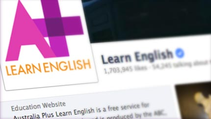 Learn English online with Australia Plus TV