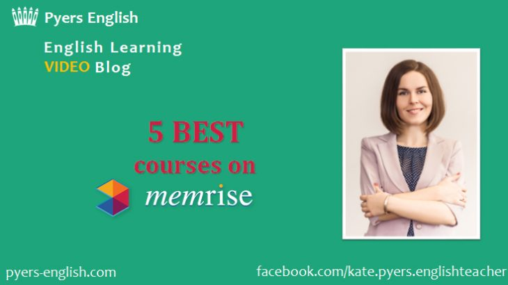 Best Memrise English courses